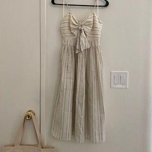Zara Striped Dress with Knot